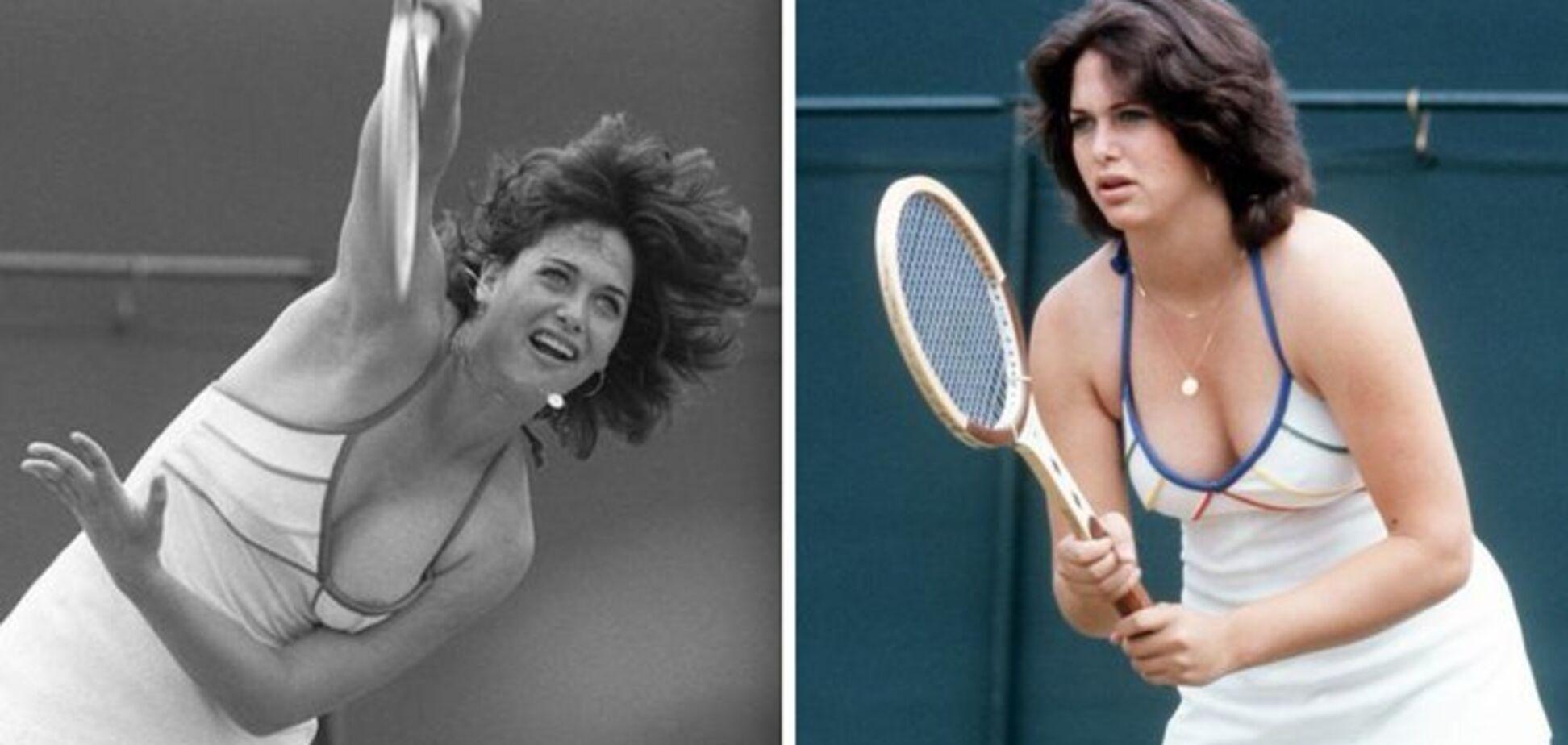 В сети вспомнили теннисистку, снявшую лифчик на Wimbledon - фотофакт