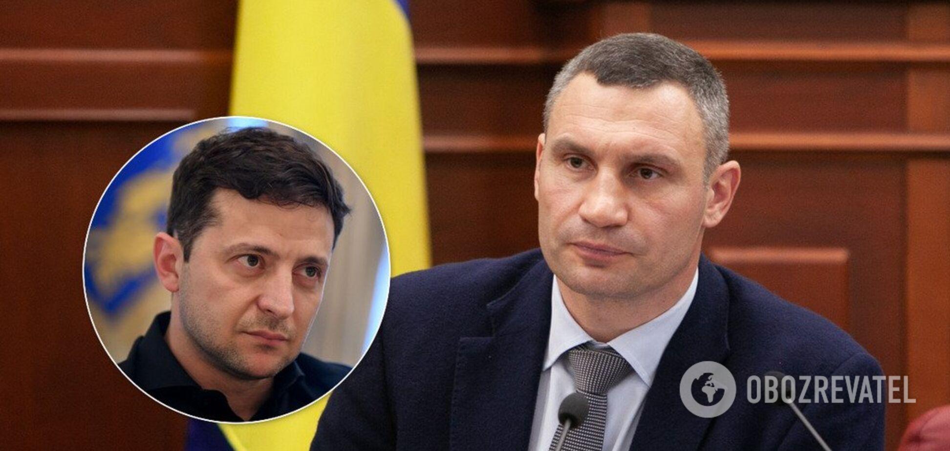 Увольнение Кличко: у Зеленского пошли на радикальные меры. Документ