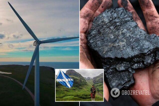 Вітропарки Шотландії в два рази перекрили потребу будинків країни в електриці