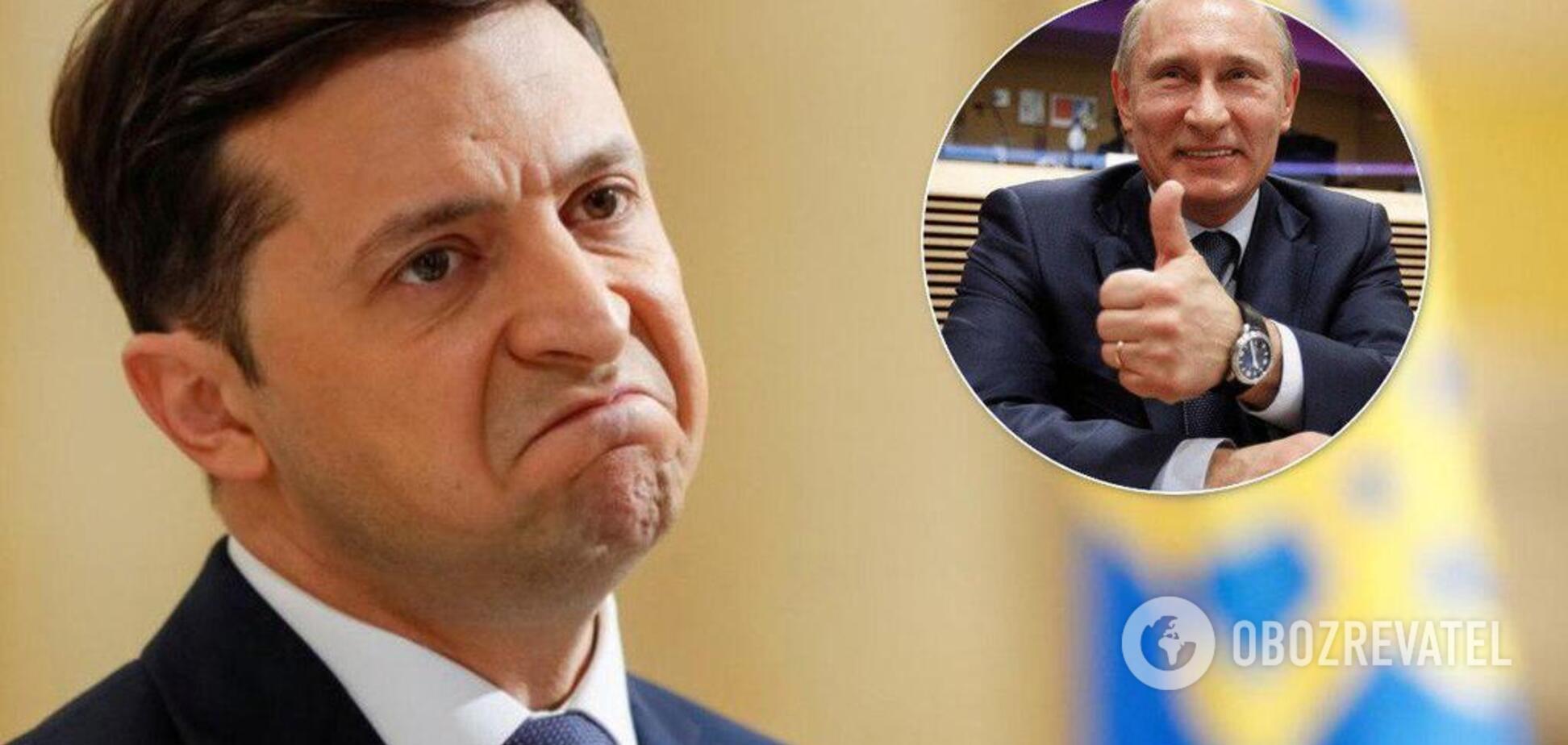 'Непередбачуване, але дрібне': експерт сказав, як Путін ставиться до Зеленського