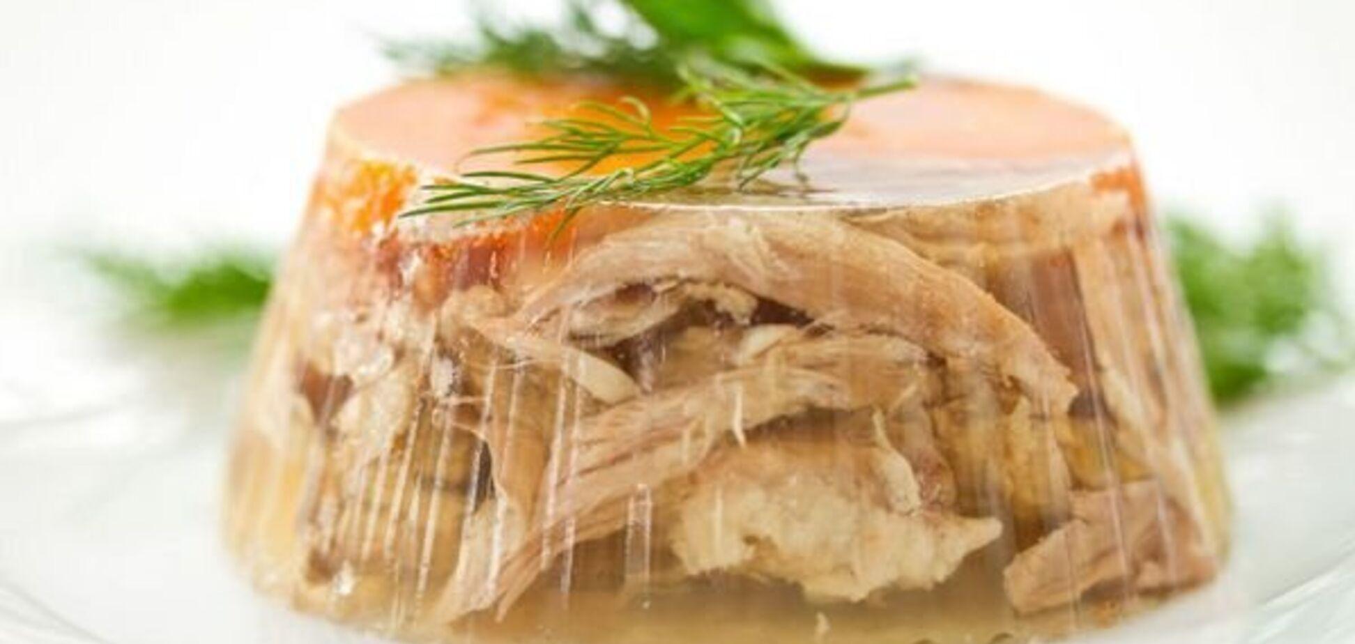 Рецепт дуже апетитного холодцю, щоб смачно нагодувати сім'ю і гостей