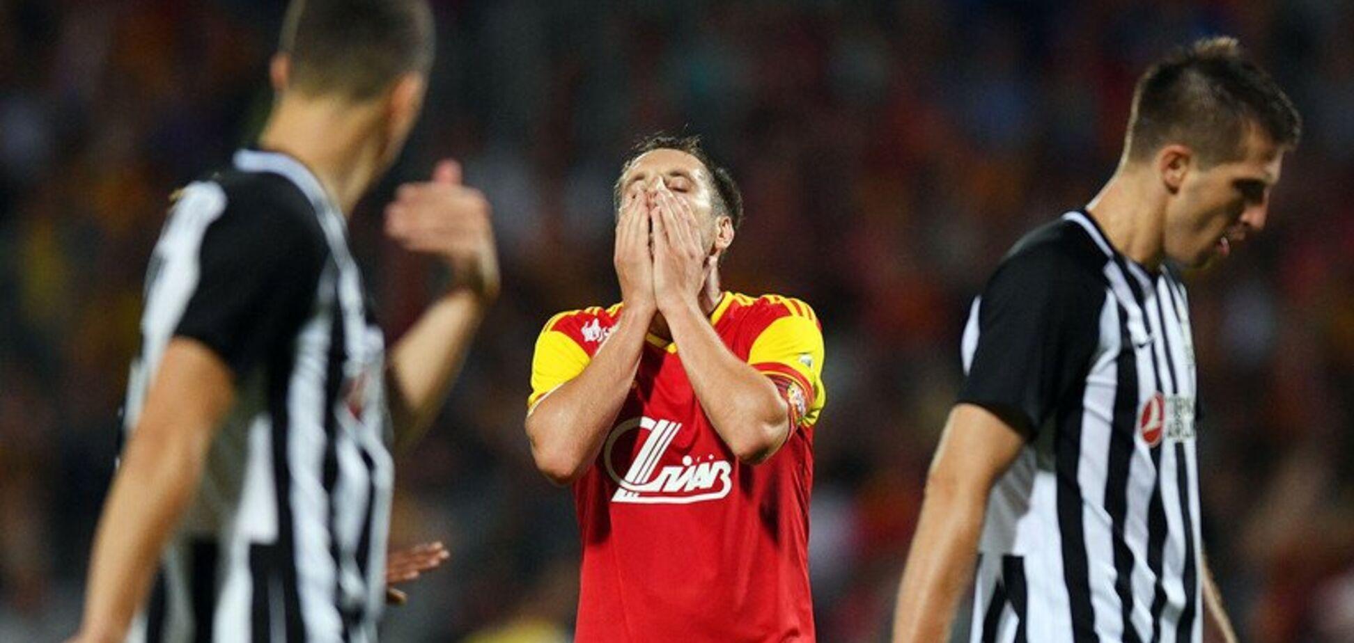 Російський клуб зганьбився в дебютному матчі Ліги Європи