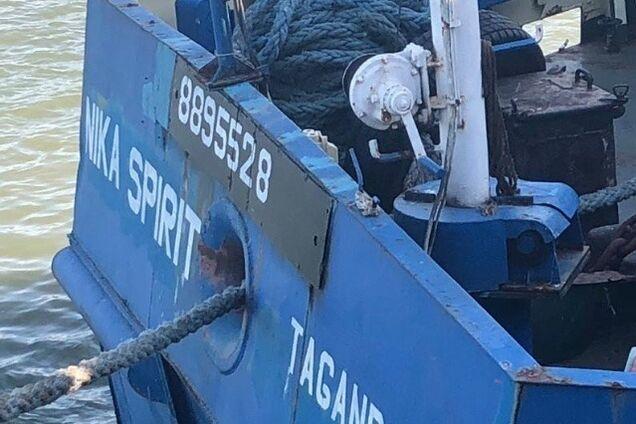 Задержание российских моряков