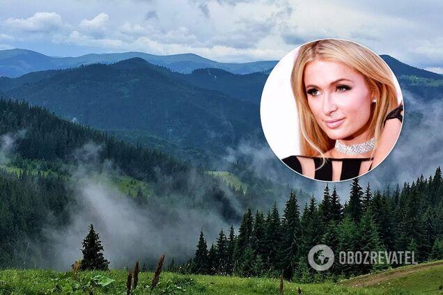 Пэрис Хилтон хочет отель в Закарпатье