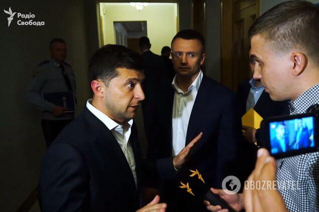 Владимир Зеленский и Михаил Ткач