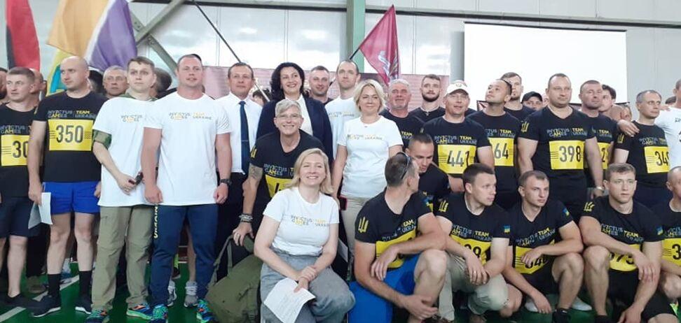'Ви - частина команди 'Україна': Климпуш-Цинцадзе відкрила рекордний відбір 'Ігор нескорених'