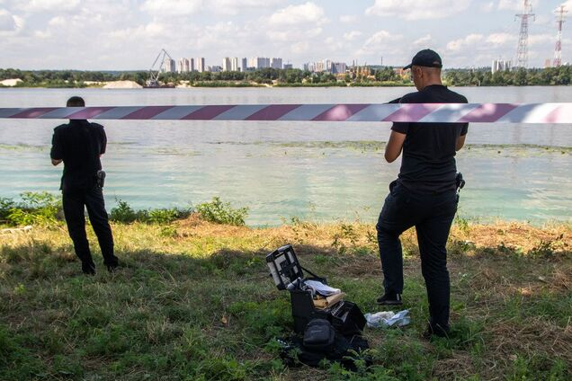 На берегу Днепра в Киеве найден труп