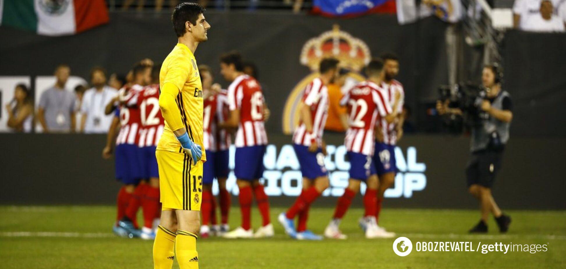 Головний конкурент Луніна по 'Реалу' жорстко зганьбився в Міжнародному кубку чемпіонів
