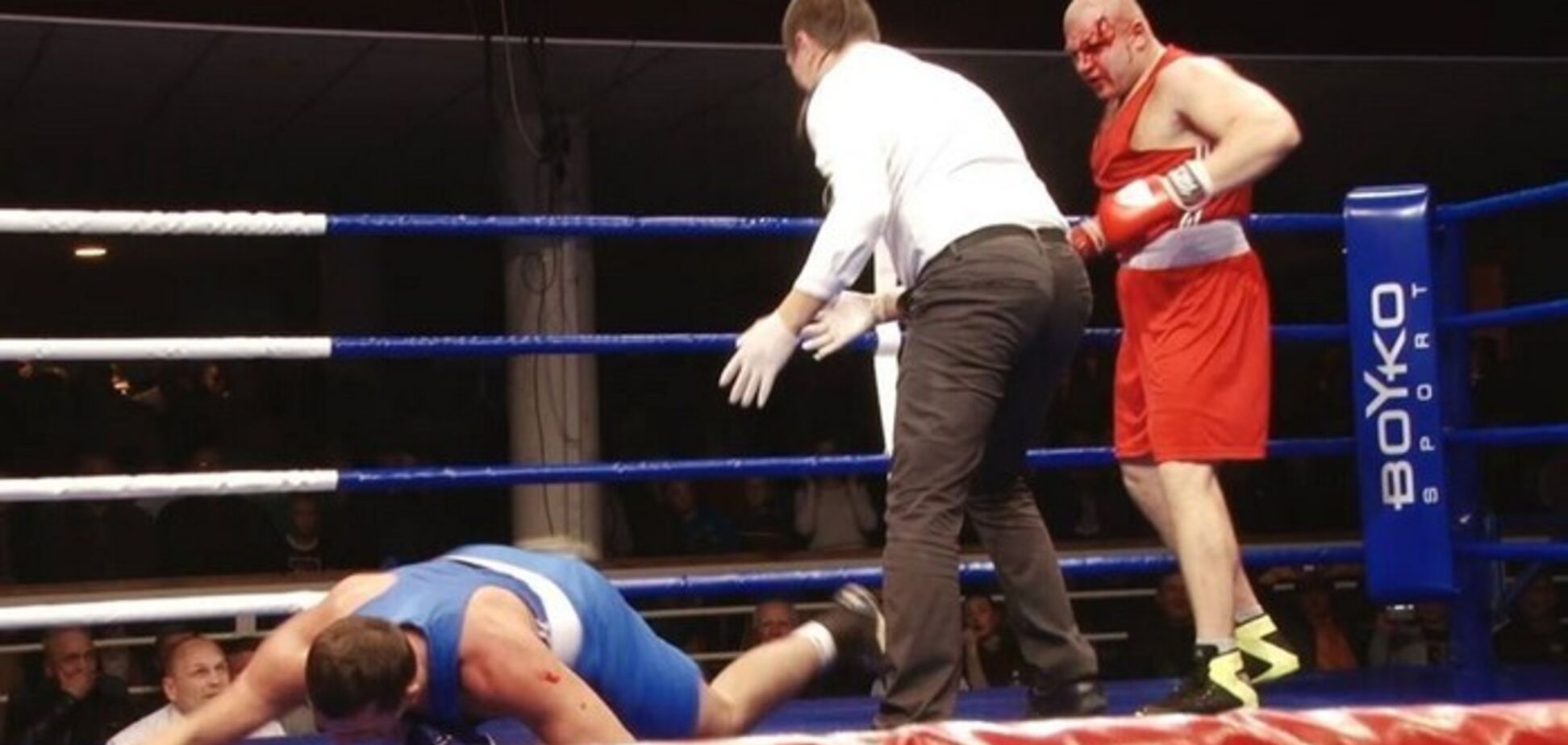 Украинский супертяж победил кошмарным нокаутом в первом раунде - опубликовано видео