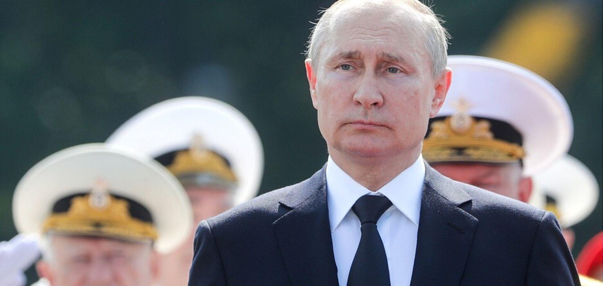 'Дамо відсіч': Путін пригрозив 'агресорам' російськими моряками. Фото і відео 'брязкання' зброєю