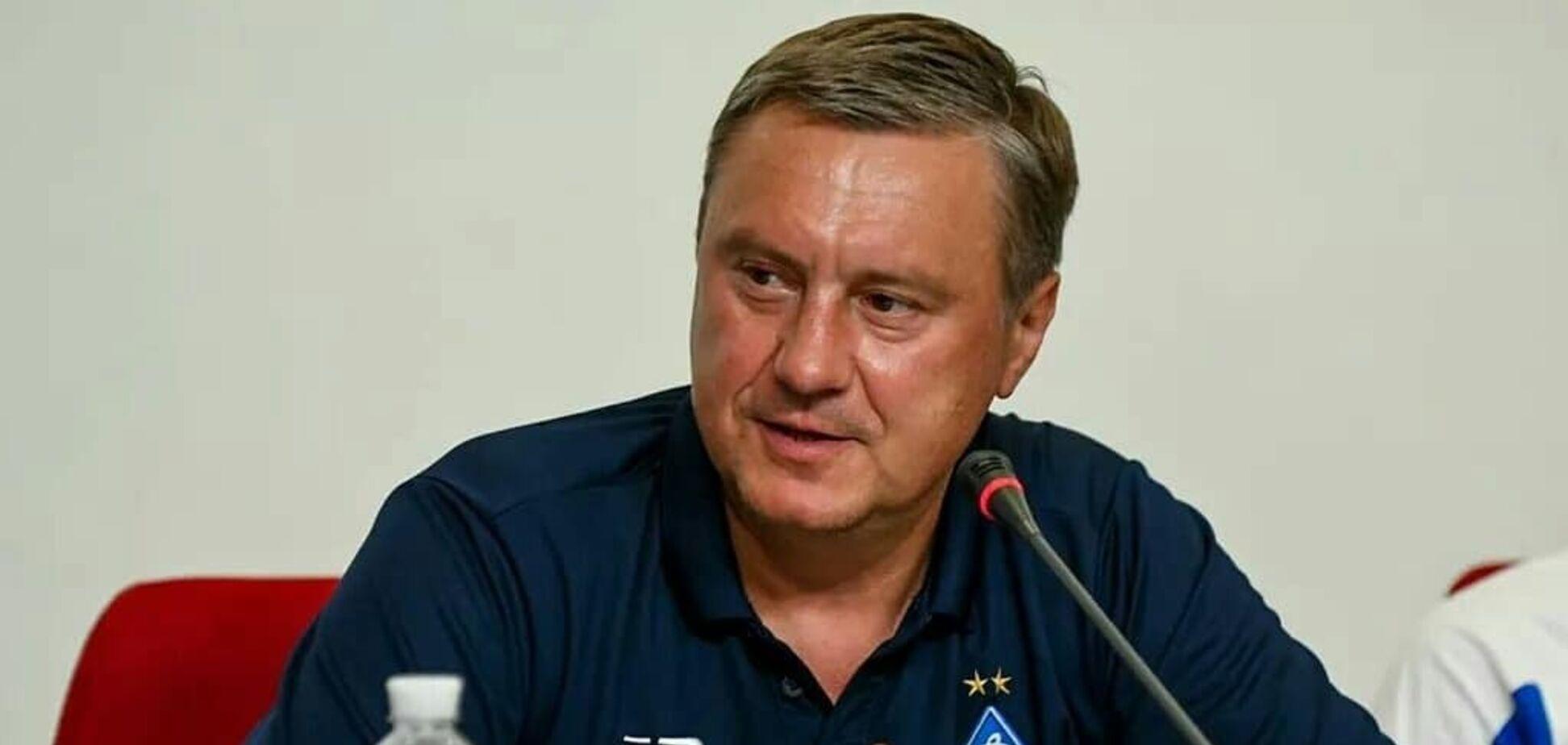 Хацкевич розповів про проблеми з лідером 'Динамо'