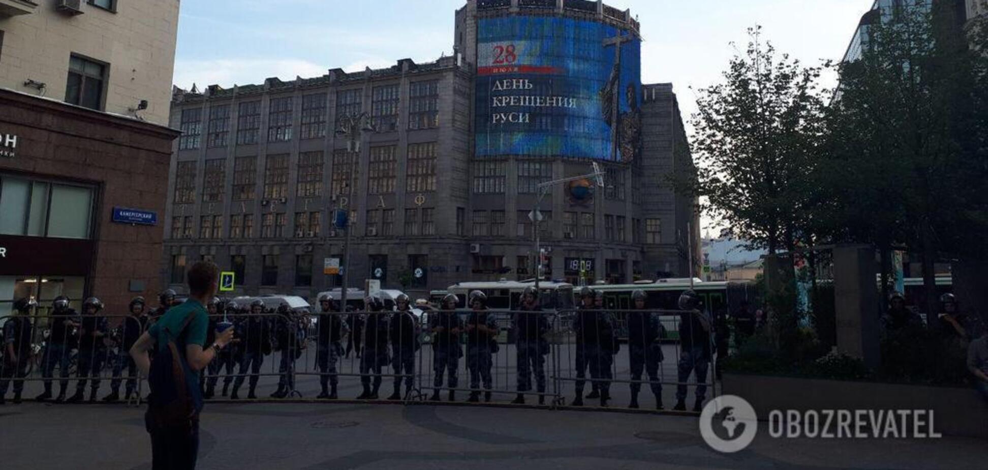 Страх перед московским 'майданом'