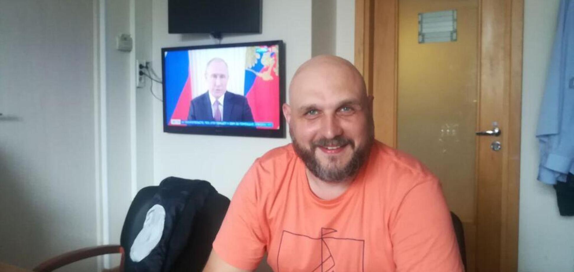Порєбрік News: ветеран АТО влаштував антиукраїнський демарш у Росії