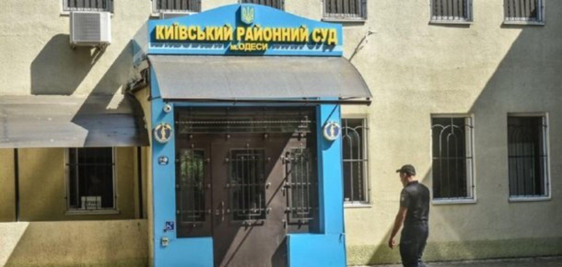 В Одессе солдат Нацгвардии выстрелил себе в голову в помещении суда