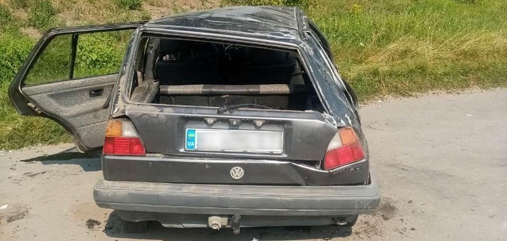 Авто перекинулося: на Київщині підліток впав у кому після аварії