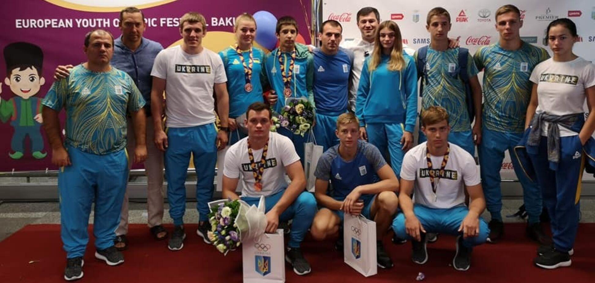 Четыре медали: юные украинские дзюдоисты покуражились на олимпийском фестивале