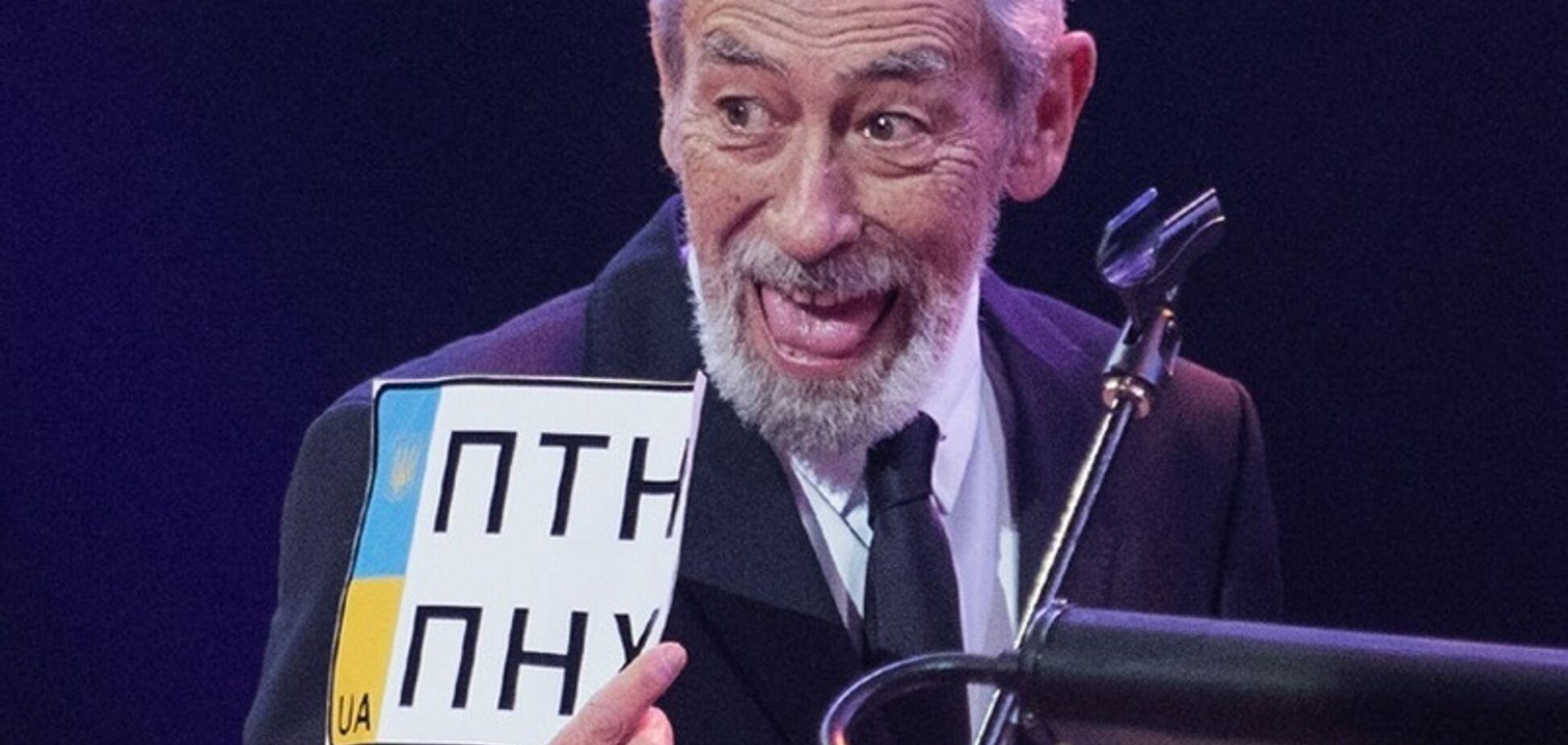 'Крым – это Украина!' Кикабидзе публично назвал Россию оккупантом. Видео