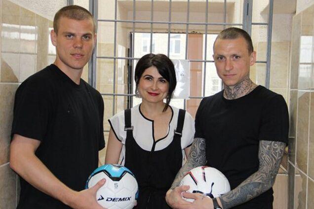 Олександр Кокорін (зліва)