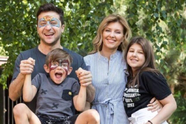 Сім'я Зеленського