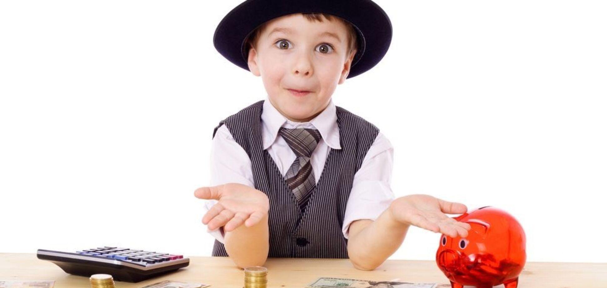 Как разбогатеть? Научите детей обращаться с деньгами