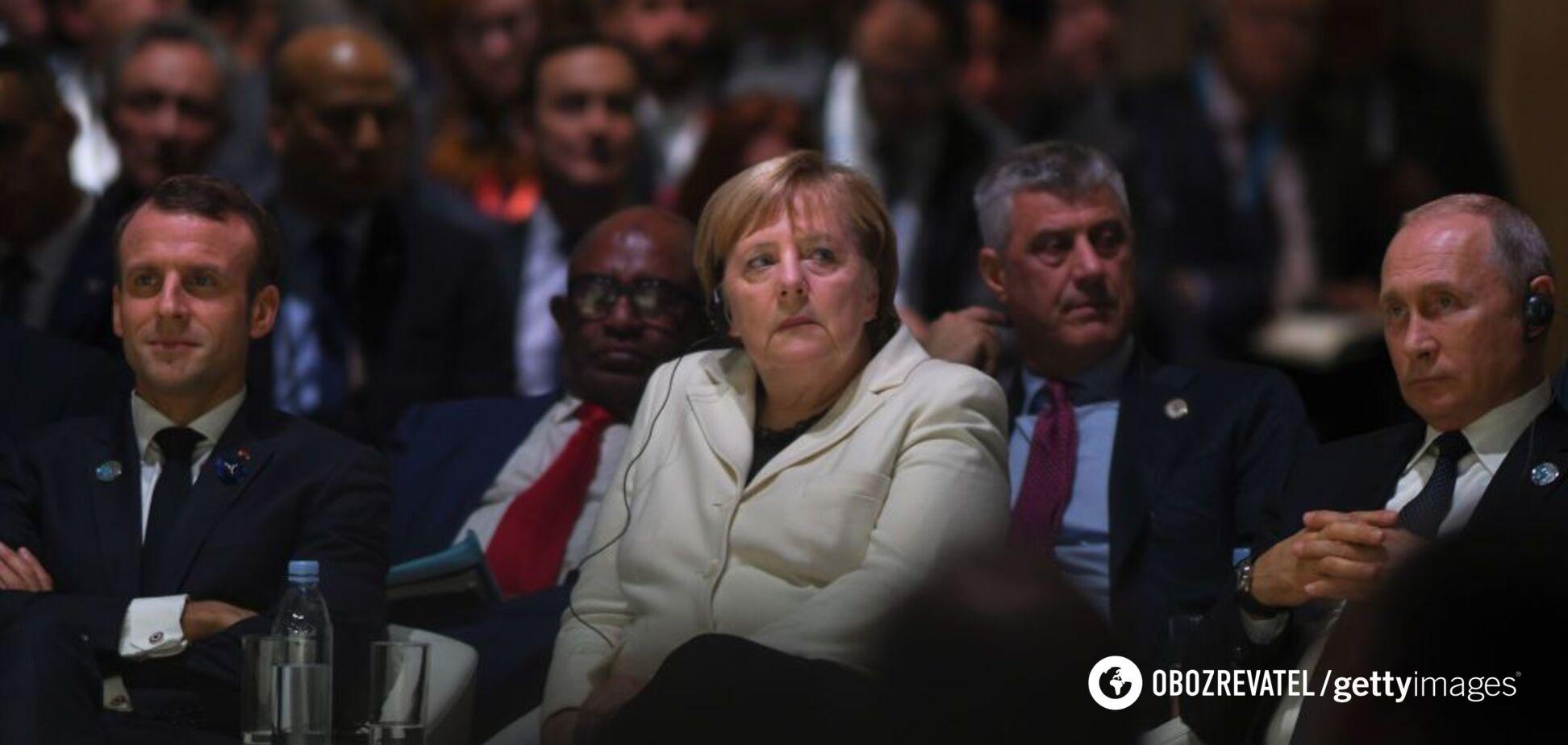 Донбасс в обмен на санкции? В России слили подробности встречи Меркель и Путина