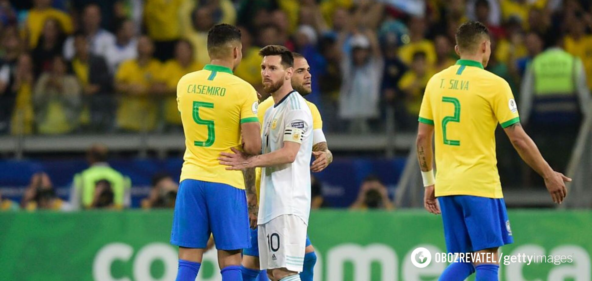 Бразилія залишила Мессі без трофею на Копа Америка-2019