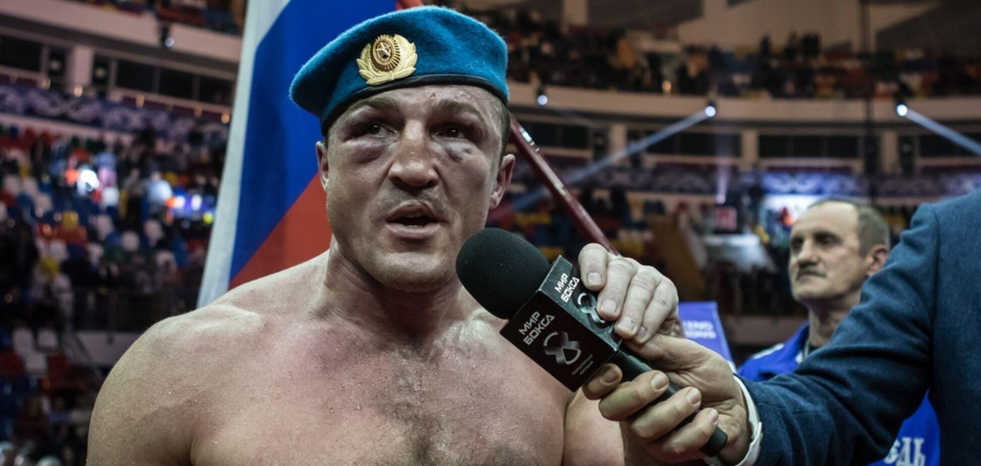 Стало известно, почему у российского боксера отобрали пояс Усика
