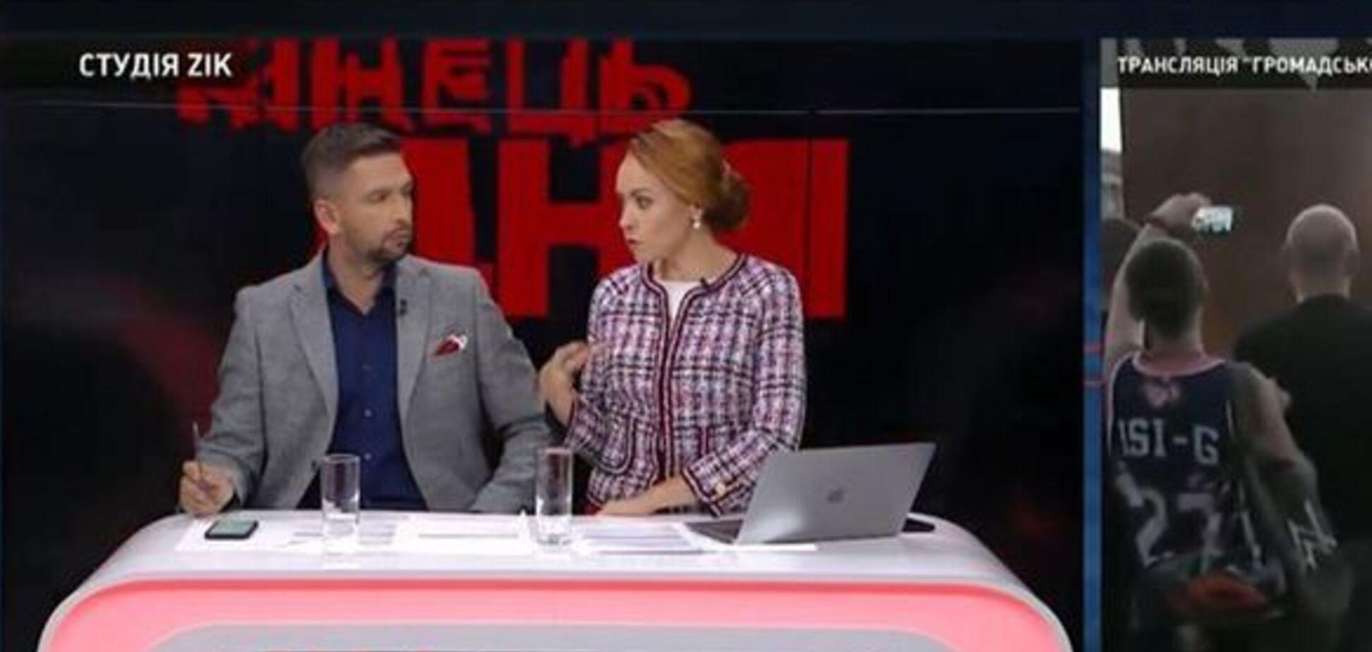 Журналіст влаштував демарш у прямому ефірі каналу соратника Медведчука: що трапилося