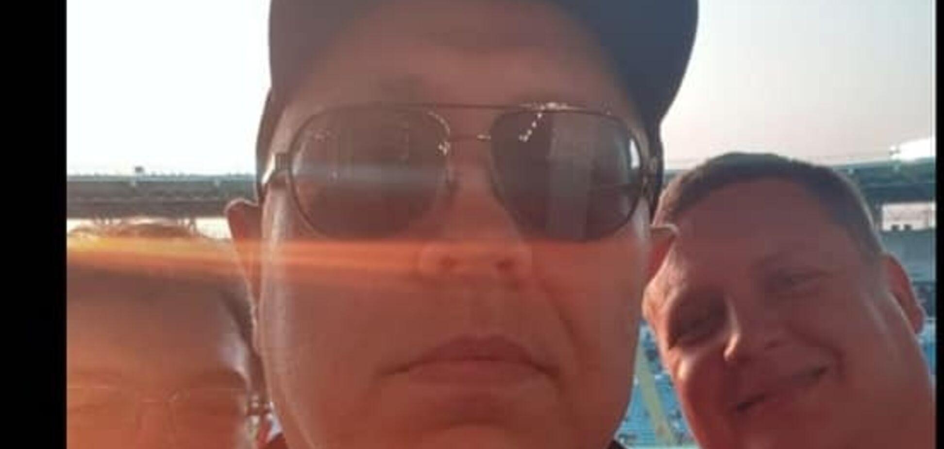 Підозрюваного у вбивстві Гандзюк засікли на футболі: в ГПУ відповіли