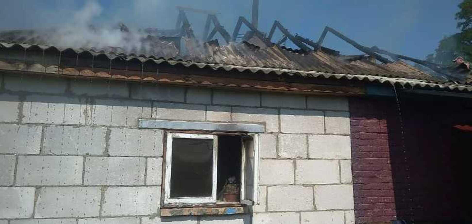 На Київщині в пожежі загинули двоє малюків: перші подробиці