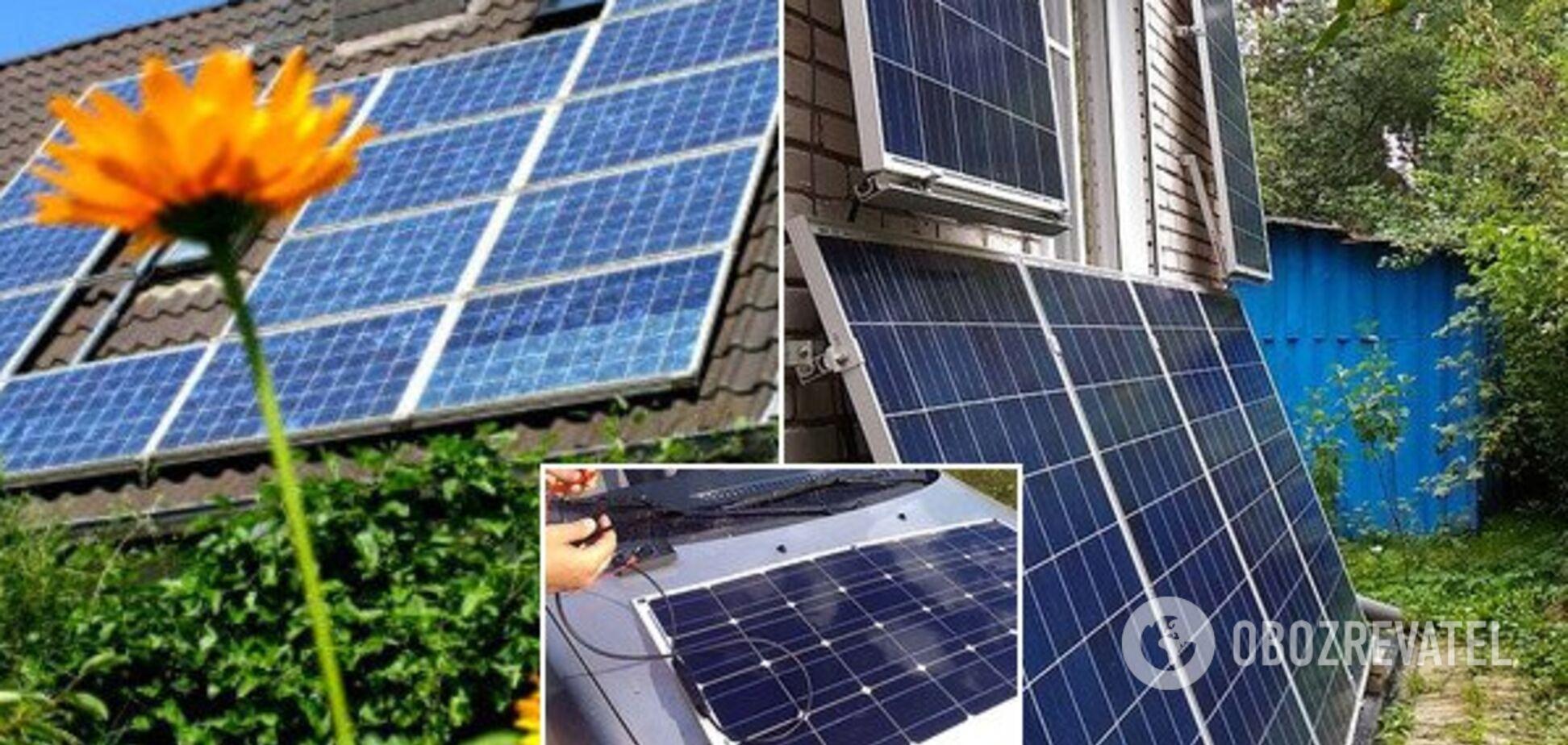 Українці заробляють на енергії сонця: ТОП-3-лідера