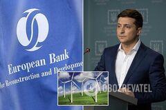 'Зелений тариф' під загрозою через рішення суду: ЄБРР звернувся до Зеленського