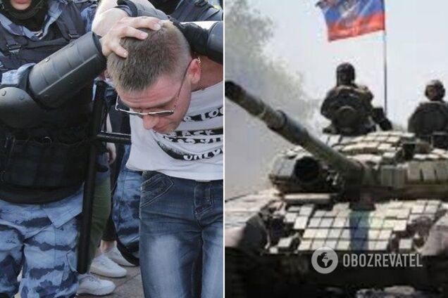 Мітинги в Москві та війна на Донбасі