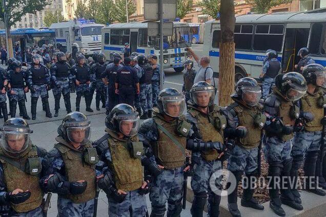 Протести в Москві 27 липня