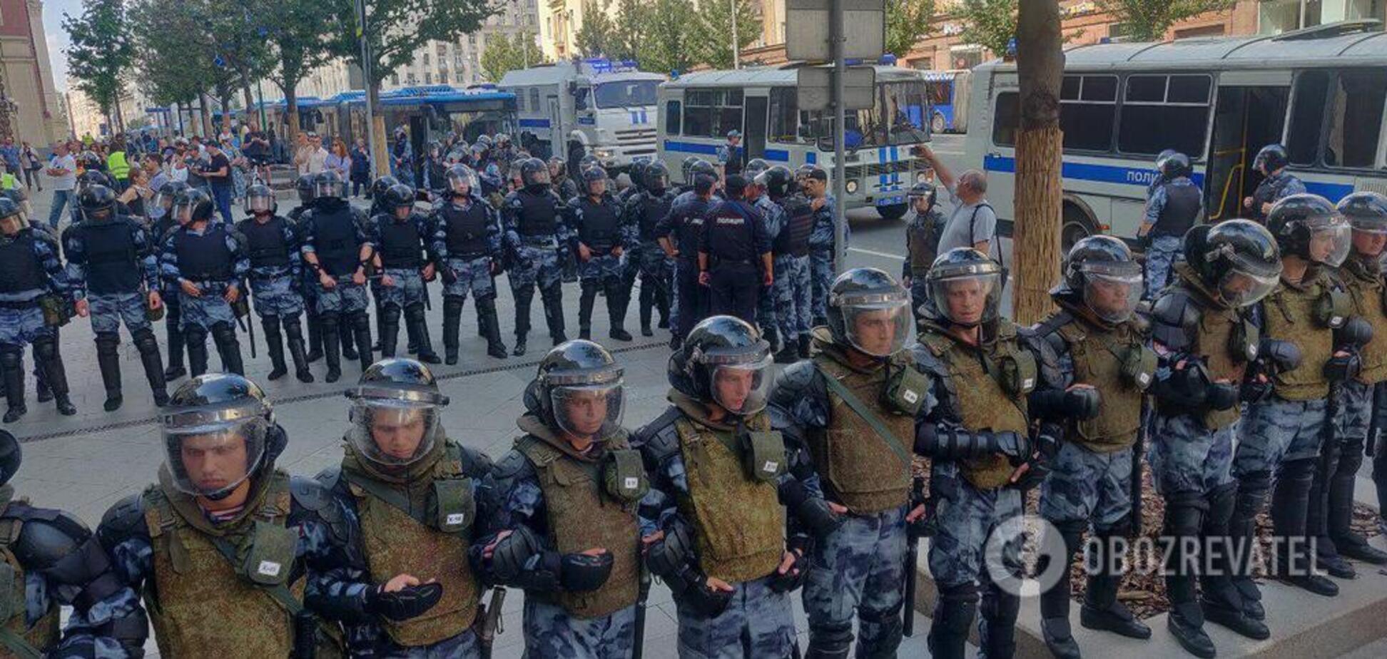 'Путин – х*йло' гремело над Москвой