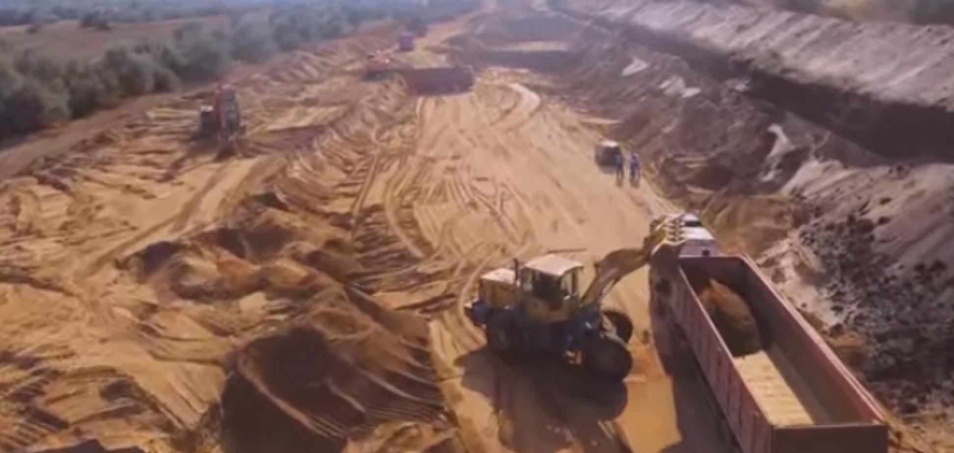 У Криму вивозять на будівництво радіоактивний пісок