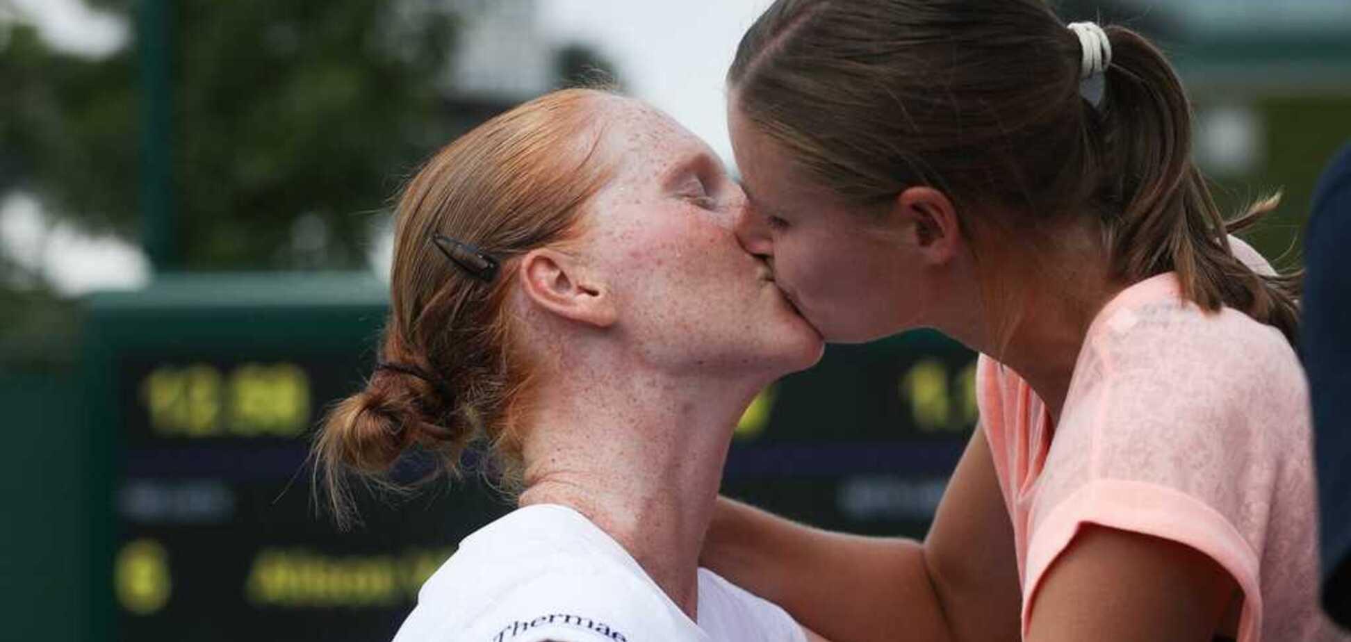 Тенісистки-лесбіянки вразили інтимним вчинком після матчу