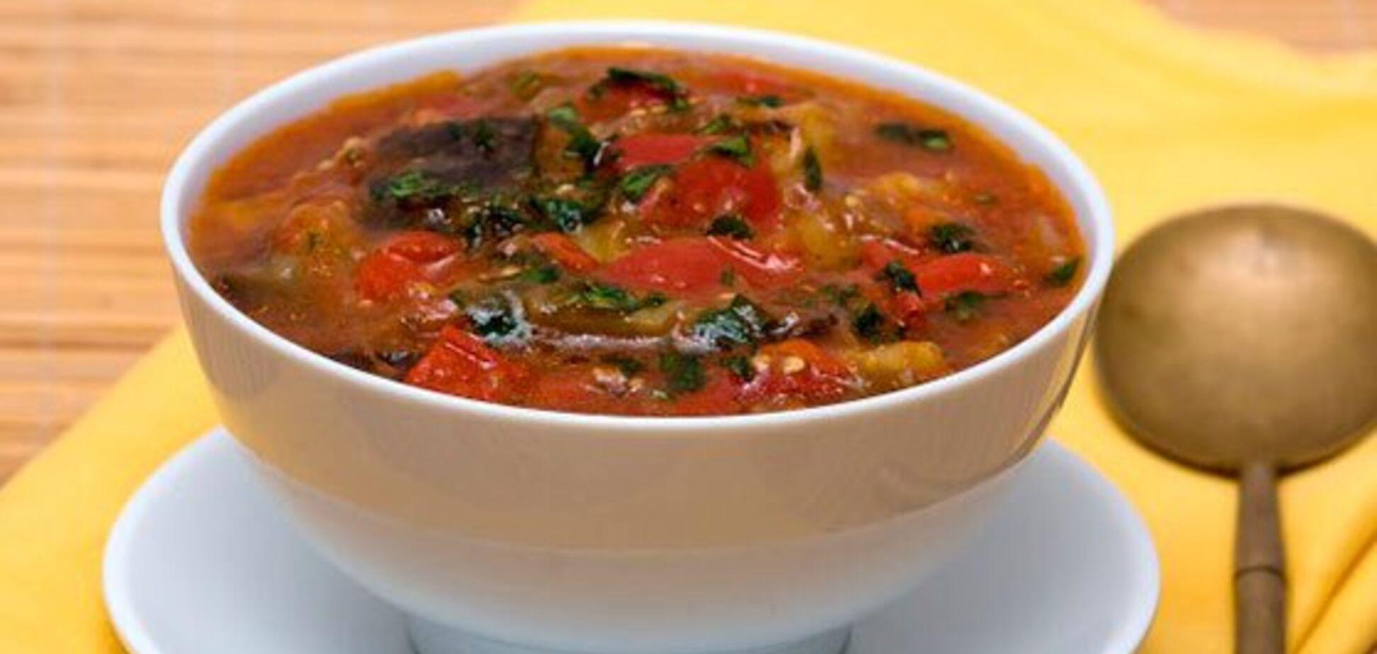 Рецепт смачного, наваристого і ароматного супу з баклажанами