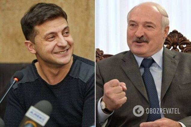 Зеленський і Лукашенко