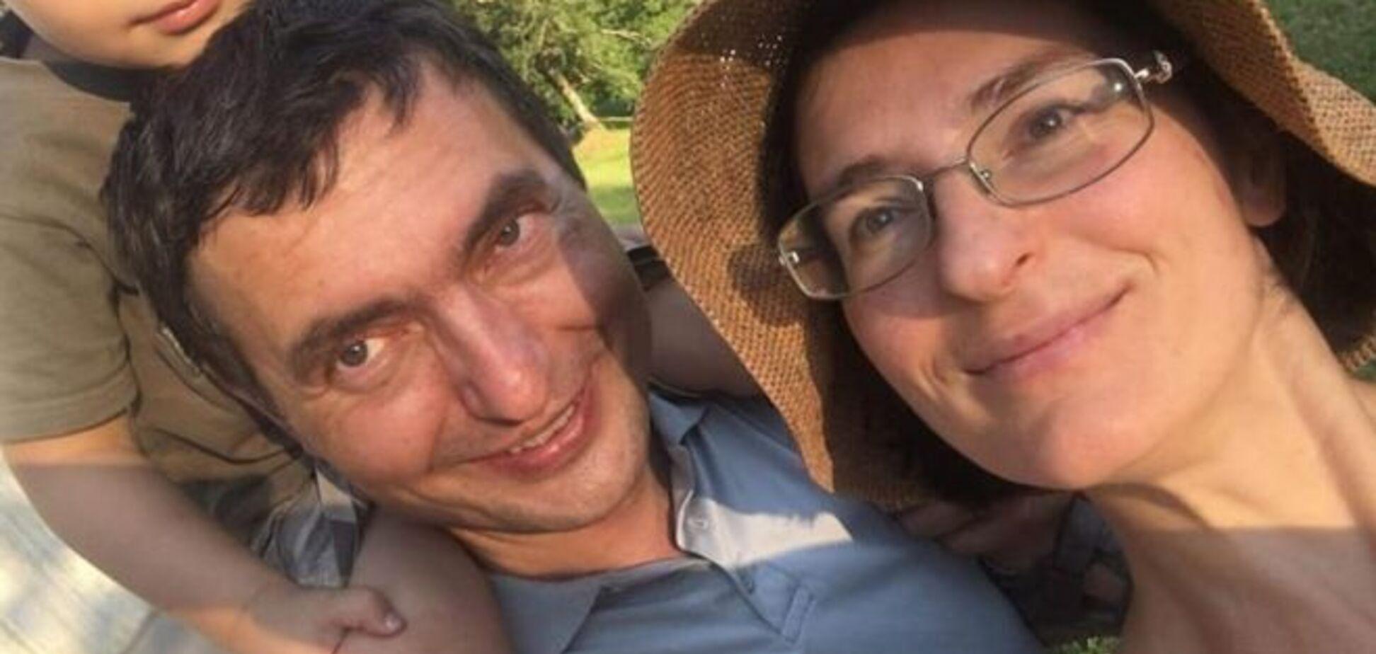 Українець разом з дружиною і сином