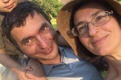 Украинец вместе с женой и сыном