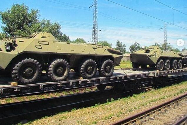 Російська військова техніка біля кордонів України в Ростовській області РФ