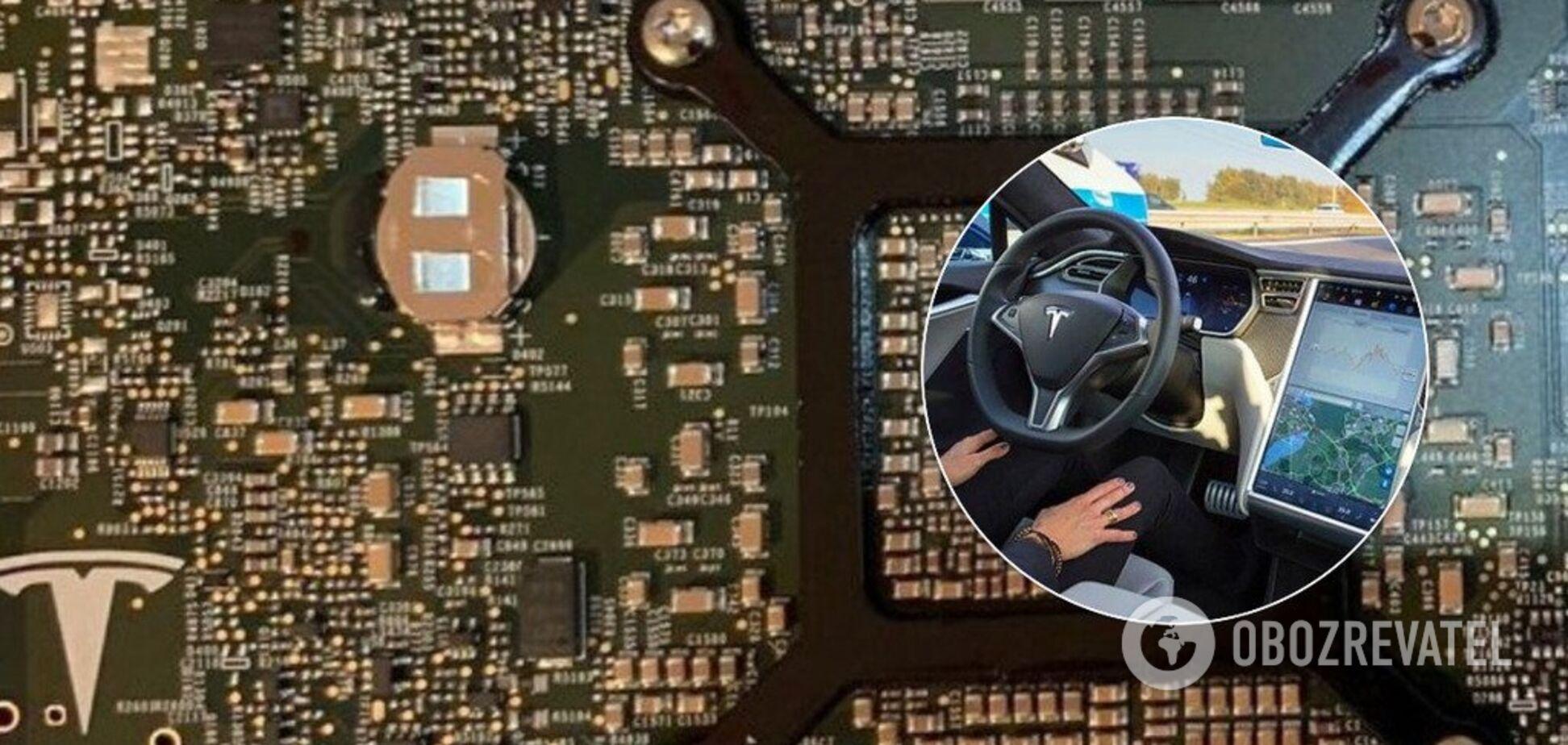 Компьютер автопилота Tesla впервые вскрыт и показан в сети. Фото