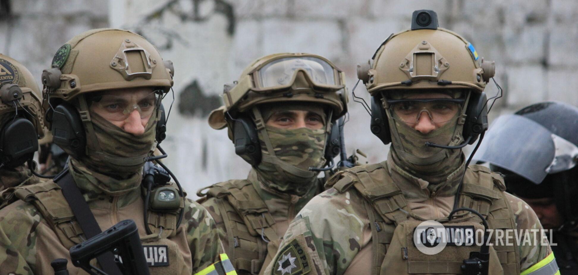 Вибухи і 'коктейлі Молотова': спецназ Дніпропетровщини провів видовищні навчання