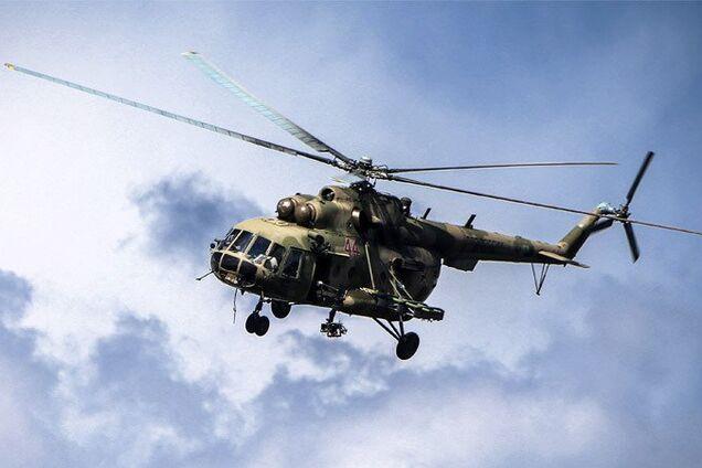 Иллюстрация. Вертолет Ми-8
