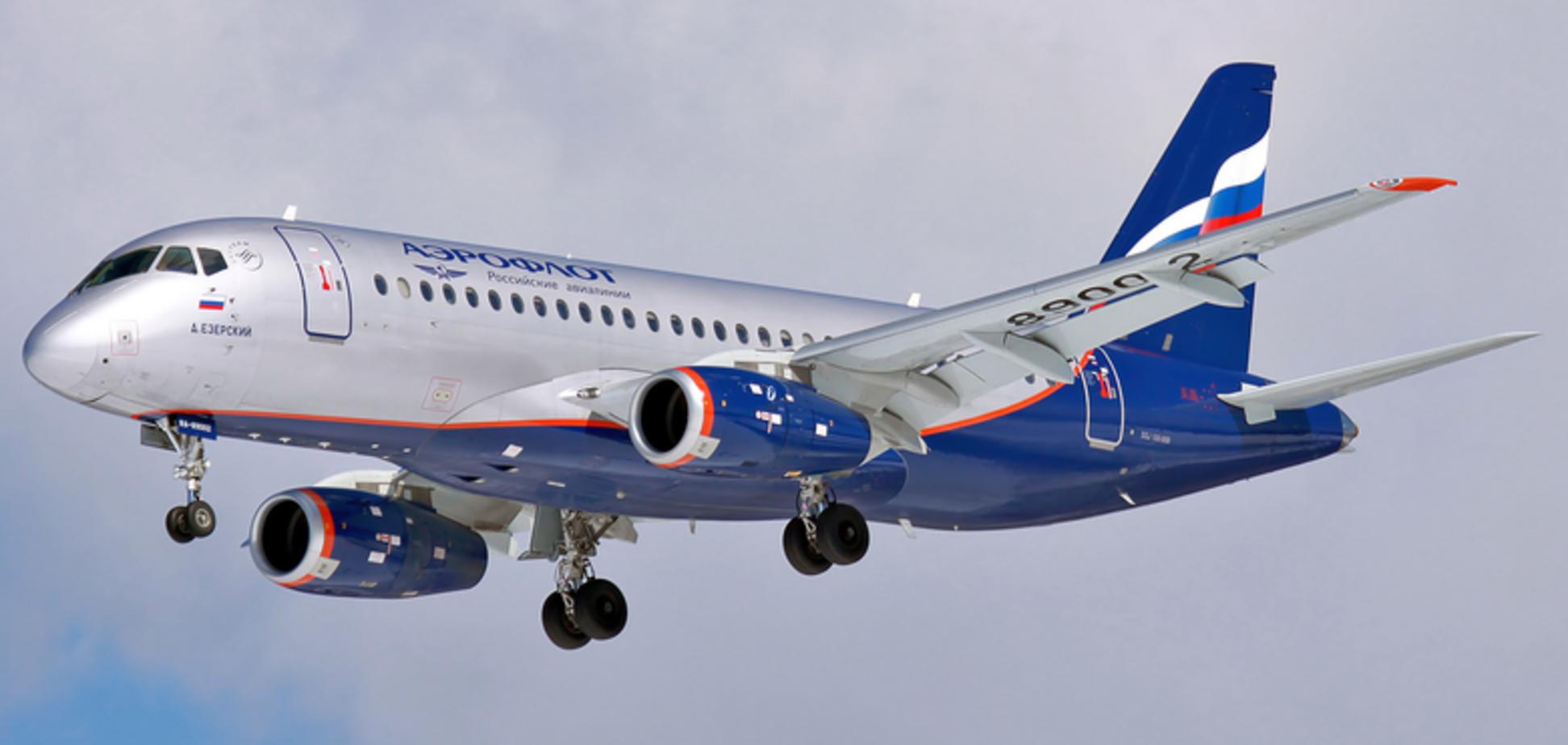 У Росії знову трапилася НП із літаком SSJ-100