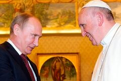 Путін випередив Україну з візитом до Папи Римського: стали відомі 'гарячі' теми