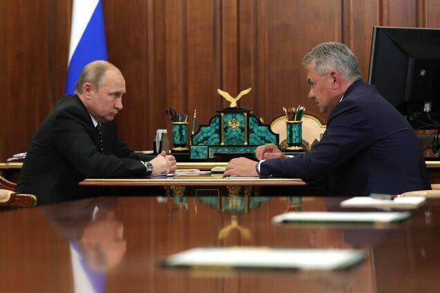 Володимир Путін, Сергій Шойгу
