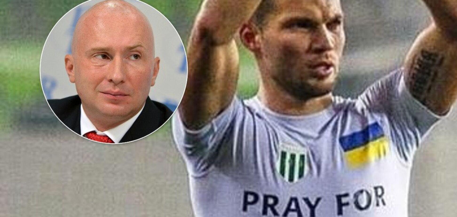 'Москальская морда' от украинского футболиста вызвала истерику в ГосДуме