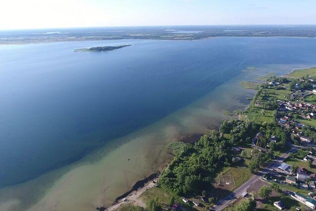 Ілюстрація. Озеро Світязь